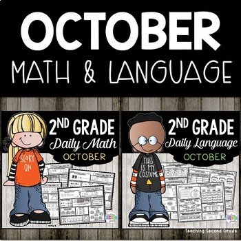October Morning Work | Daily Math | Daily Language