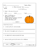 October Morning Work Fourth Grade Common Core Standards