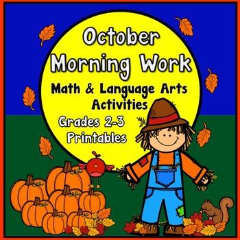 October Morning Work - Grades 2-3-4