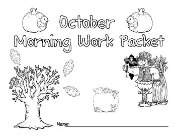 October Morning Work Packet