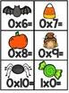 October Multiplication Fact Fluency