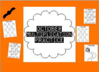 October Multiplication Practice!