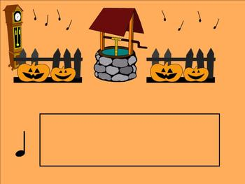October Music Activities for SmartBoard