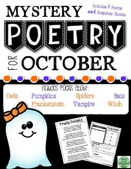 October Mystery Poetry Set
