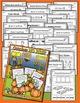 October NO PREP - Math & Literacy (Kindergarten)