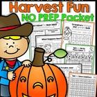 October NO PREP Math and Literacy (2nd Grade)