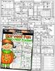 October NO PREP Math and Literacy Packet (1st Grade)