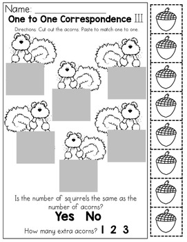 October NO PREP Packet (Preschool)