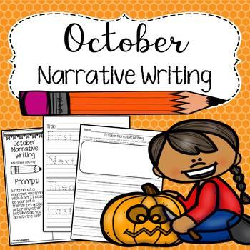 October Narrative Writing