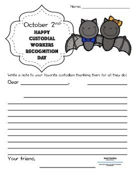 October National Days Pages-Morning Work/Halloween Isn't All that October Has!
