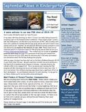 September Newsletter for FDK
