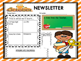 October Newsletter in English and Spanish