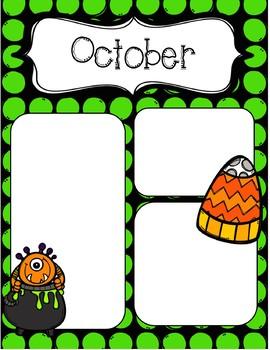 October Newsletters *Editable*