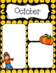 October Newsletters *Editable*