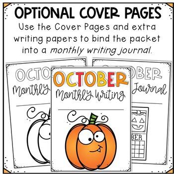 October No Prep Journal Prompts