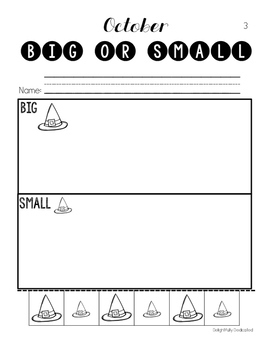Math Basic Skills Unit for Special Education: October Edition