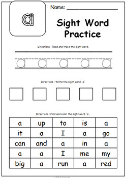 October No Prep Printables for Preschool - Free