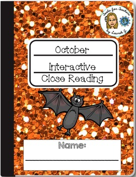 October Non-Fiction Close Reading Activities for Google Drive®