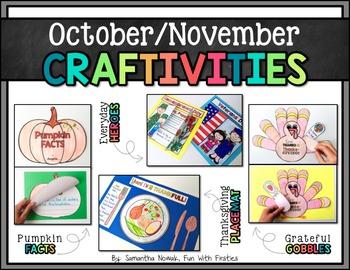 October/November CRAFTIVITIES