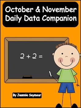 October & November:  Daily Data Companion