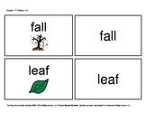 October/ November Functional Spelling Boardmaker Picture C