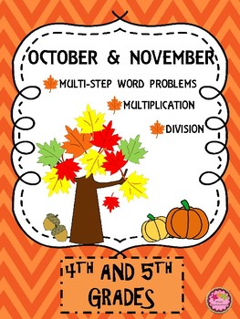 Multiplication, Division, & Word Problems for Fall Back to School