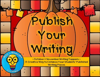 October/November Writing Toppers