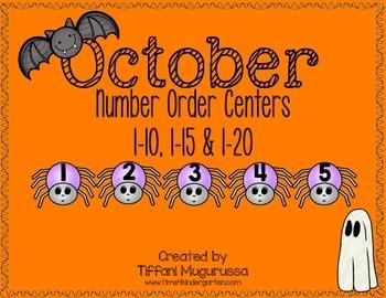 October Number Order Centers K.CC.A1