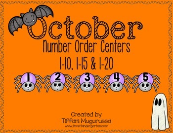 Number Order Centers for October