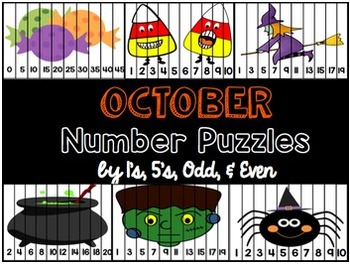 October Number Puzzles