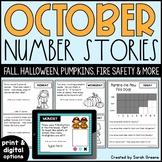 October Number Stories (printable & digital versions)