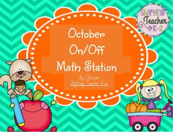 October On/Off Addition Game