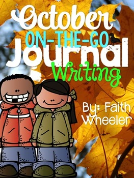 October On-The-Go Journal Writing