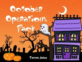 October Operations Pack: Common Core Addition and Subtraction