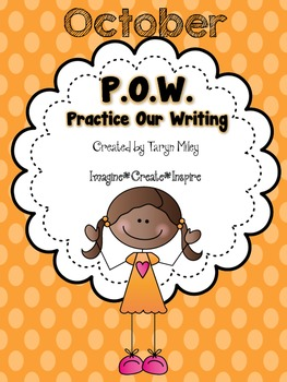 October POW (Practice Our Writing)