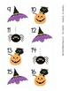 October Pattern Calendar Numbers