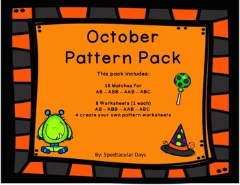 October Pattern Pack