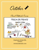 October Pencil Obstacle Course