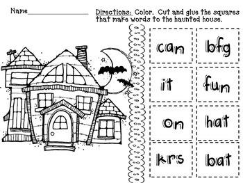 Phonics & Reading Fun for October (PreK, Kinder)