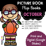 October Picture Book Flip Books - Print and Digital Options