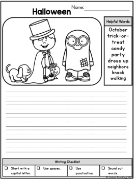 Writing Prompts for October