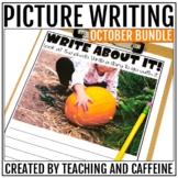 October Picture Writing Prompts BUNDLE