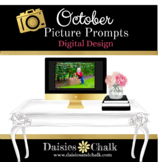 October Picture Writing Prompts - Digital Design