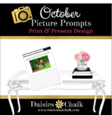 October Picture Writing Prompts - Print & Present Design