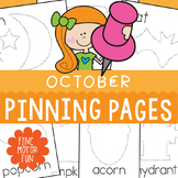 October Pokey Pin Pages