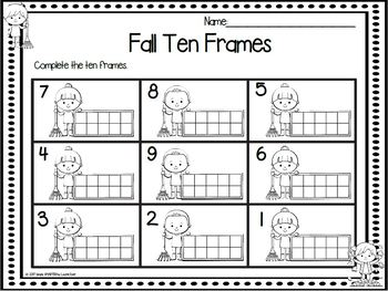 October Play and Practice:  NO PREP Math and Literacy Games and Practice Pages