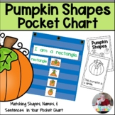 Pocket Chart- Pumpkin Shapes