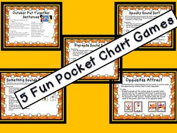 October Pocket Chart Station