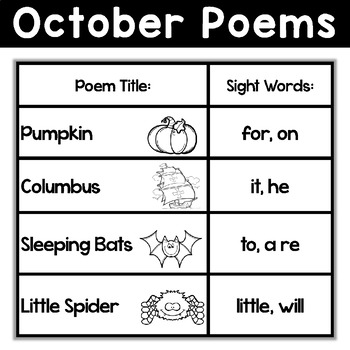 October Poems