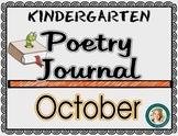 October Poetry Journal